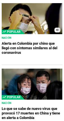 20200122 el pulzo pánico por chino con sintomas de corona virus en colombia