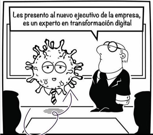 corona virus y transformación digital
