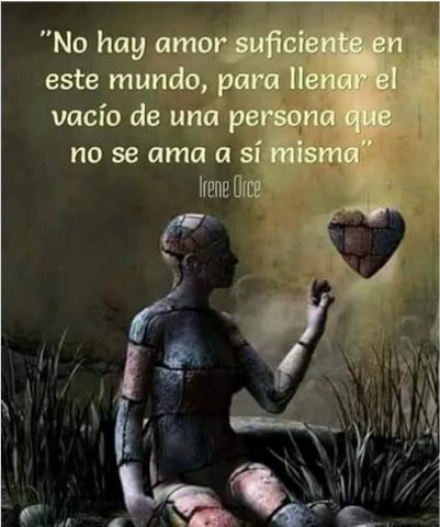 el amor asi mismo es una gran necesidad